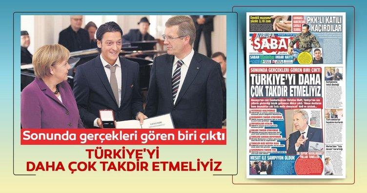 Türkiye'yi daha çok takdir etmeliyiz