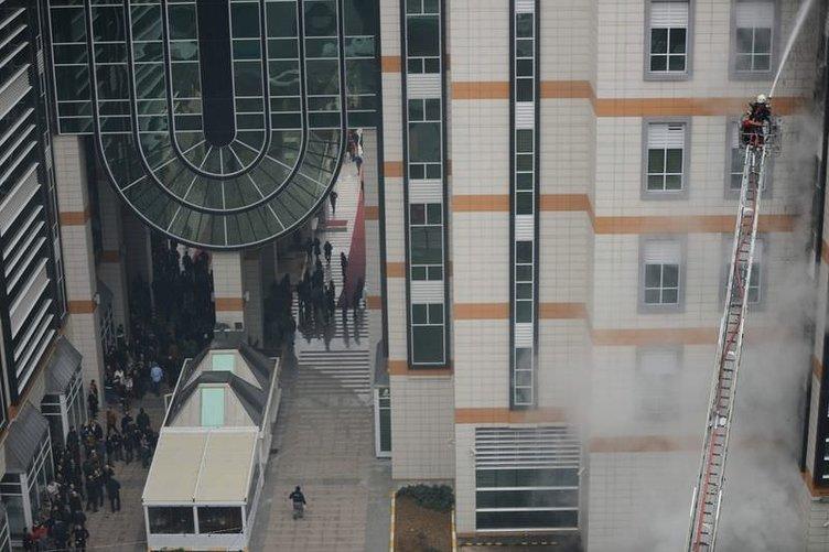 İstanbul Vizyon Park'ta yangın