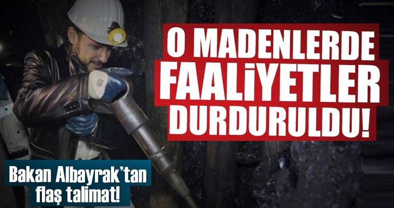 Bakan Albayrak talimat verdi, madenler sil baştan!