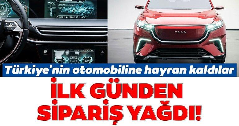 Türkiye'nin yerli otomobiline hayran kaldılar! İlk günden sipariş yağdı...