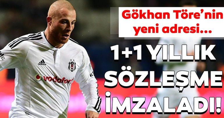 Beşiktaş'tan olaylı ayrılmıştı... Gökhan Töre'nin yeni adresi belli oldu!