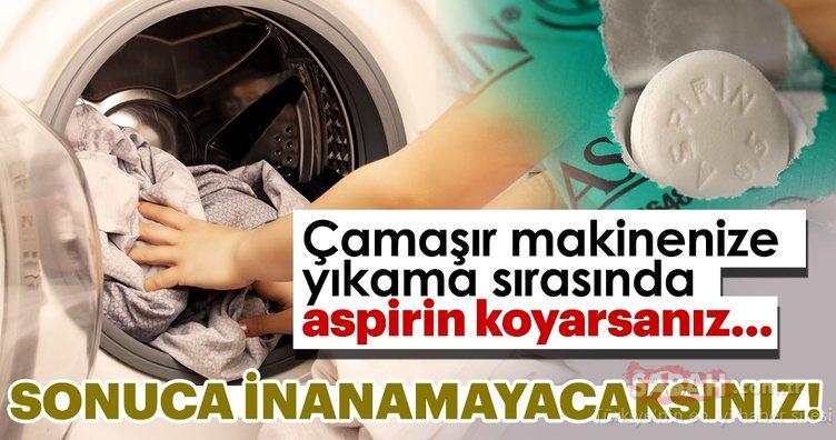 Çamaşır makinenize yıkama esnasında aspirin atın sonuca inanamayacaksınız! İşte çamaşırları yıpratmadan yıkamanın püf noktaları...
