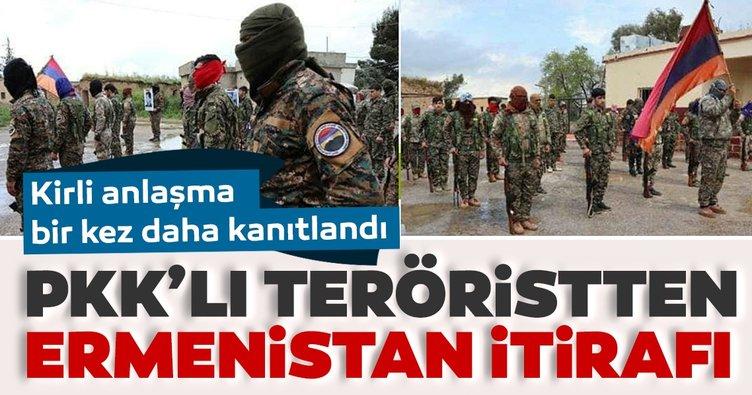 PKK'lı teröristlerden Ermenistan itirafı