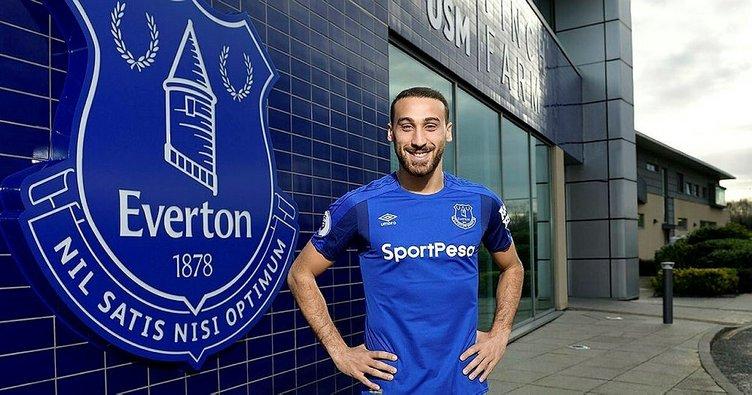 Cenk Tosun Tottenham - Everton maçında kadroda olacak