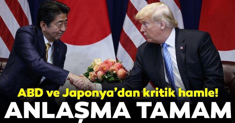 Japonya ve ABD'den ticaret anlaşması