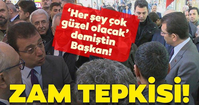 Ekrem İmamoğlu'na zam tepkisi: 'Her şey çok güzel olacak' demiştin Başkan!