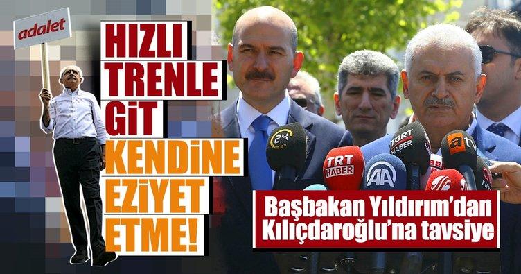 Başbakan Binali Yıldırım'dan flaş Kılıçdaroğlu açıklaması