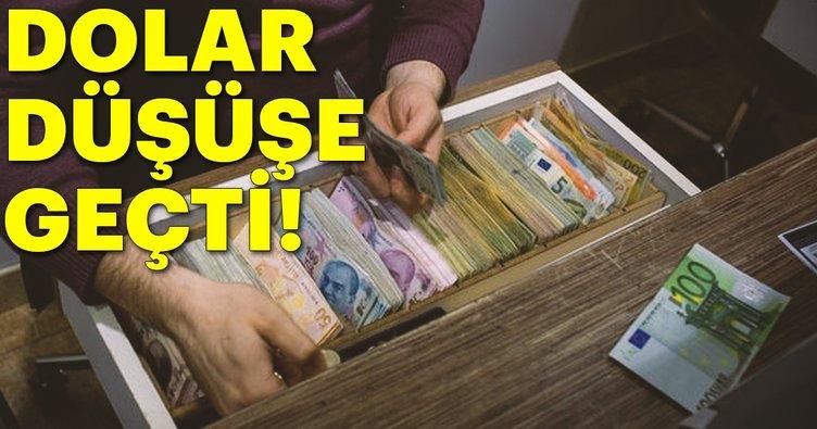 Son dakika: Dolar düşüşe geçti! Dövizde son durum!