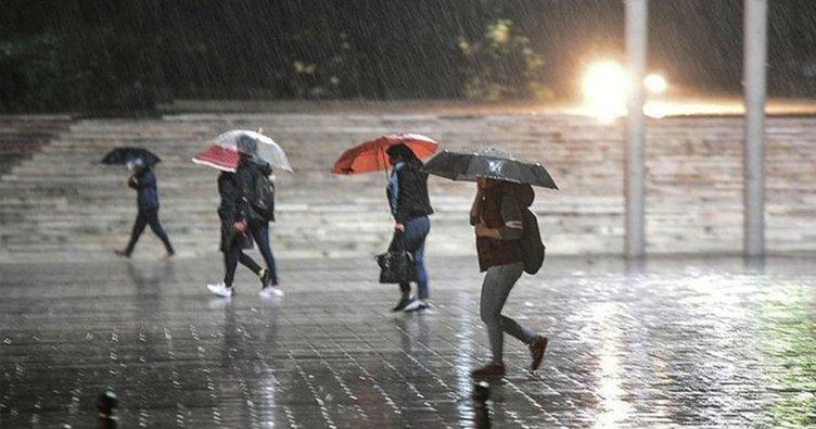 Meteoroloji'den son dakika hava durumu ve yağış uyarısı geldi! İstanbul ve birçok il için yağış uyarısı