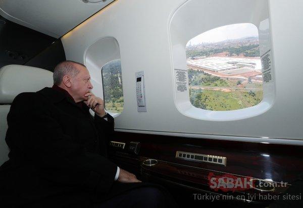 Başkan Erdoğan tek tek inceledi! Sancaktepe'deki Prof. Dr. Feriha Öz Acil Durum Hastanesi açıldı