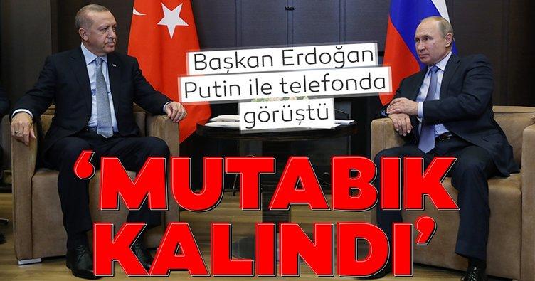 Son dakika: Başkan Erdoğan Putin İle görüştü