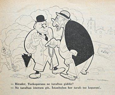 100 yıllık karikatürlerle: Bize Belediye Baksın