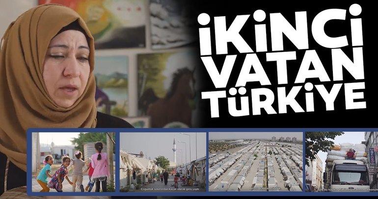 """Türkiye'deki Suriyelilerin yaşamlarını anlatan """"İkinci Vatan: Türkiye"""" belgeseli büyük ilgi gördü"""
