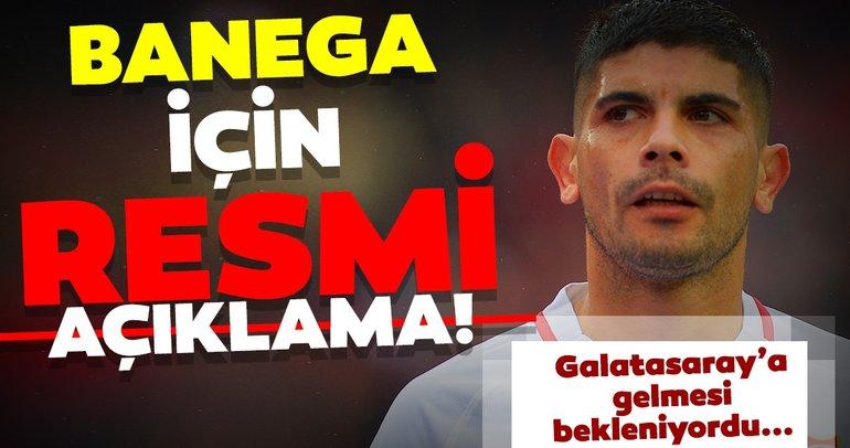 Galatasaray transfer haberleri: Sevilla'dan Banega için flaş açıklama