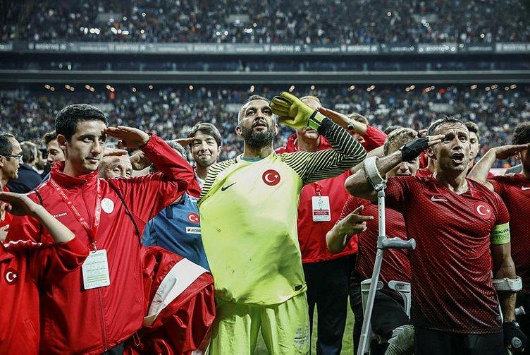 Ampute Milli Takımı kaptanı Osman Çakmak'ın hikayesi!