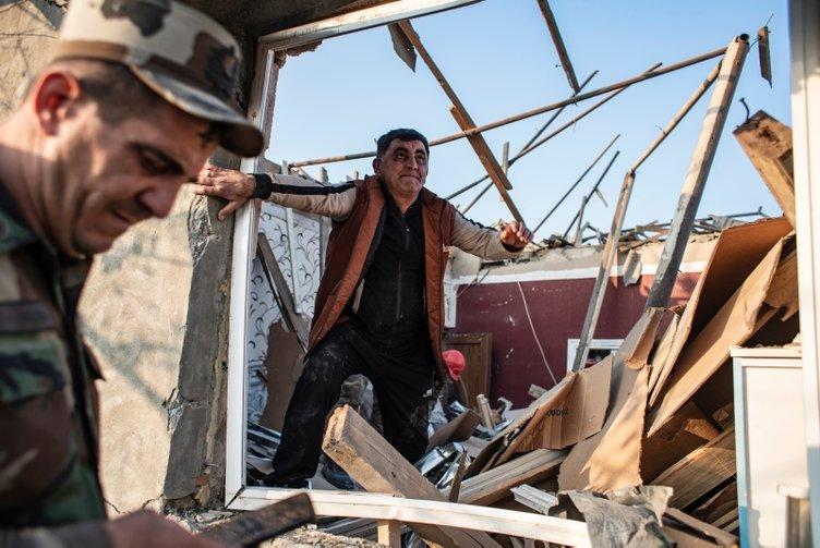 Ermenistan, ikinci kez Azerbaycan'ın Gence kentindeki sivilleri uykudayken vurdu