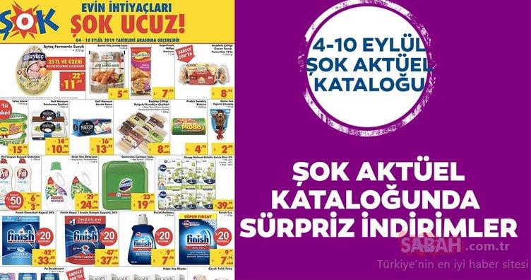 ŞOK aktüel 4- 10 Eylül ürünler kataloğu! ŞOK aktüel ürünlerde bu hafta sürpriz indirimler…
