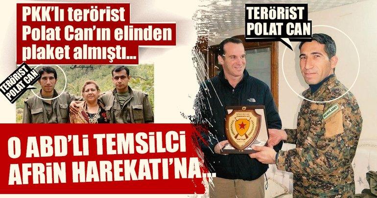 PKK'nın ödüllendirdiği ABD'li Zeytin Dalı'na karşı çıktı