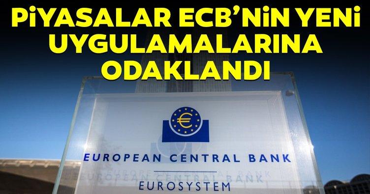 Piyasalar, ECB'nin yeni uygulamalarına odaklandı