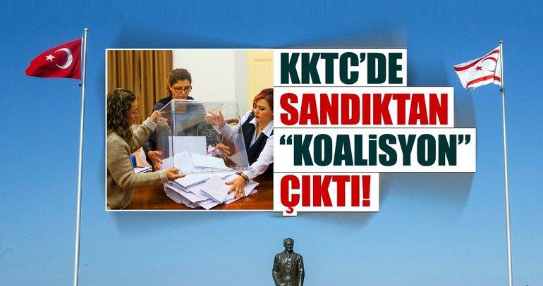 KKTC'de sandıktan koalisyon çıktı