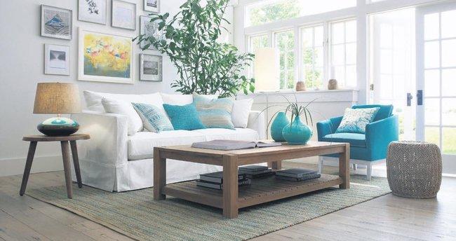 Eviniz hava alsın renkler huzur verici olsun