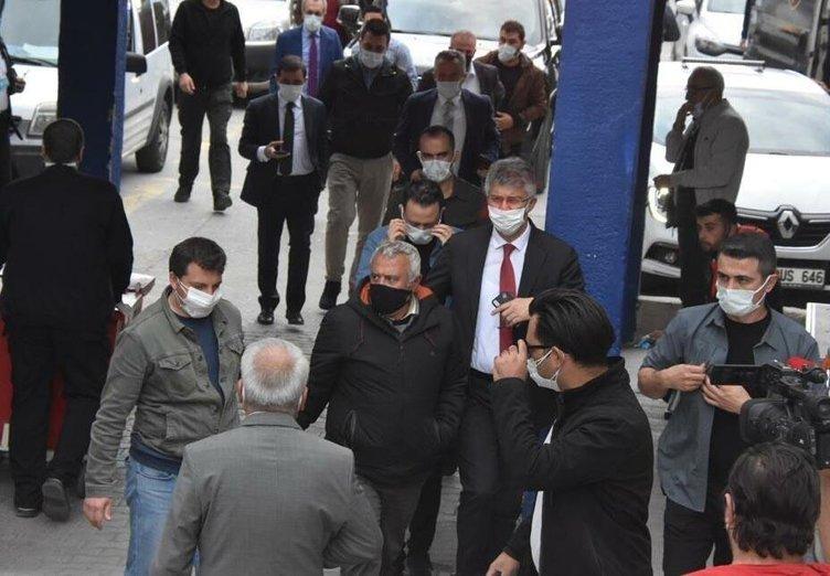 Eşini teşhise geldi ve... İzmir Bölge İdare Mahkemesi Hakimi Mehmet Kaplan'ın zor anları