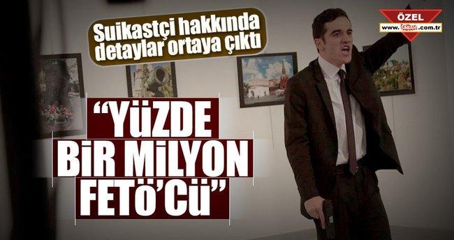 """Mevlüt Mert Altıntaş """"Yüzde bir milyon FETÖ'cü"""""""