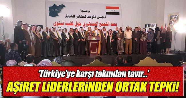 Ninovalı aşiret liderlerinden Bağdat hükümetine 'Türkiye' tepkisi!