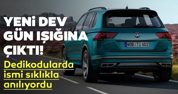 Yeni Volkswagen Tiguan ortaya çıktı! 2021...