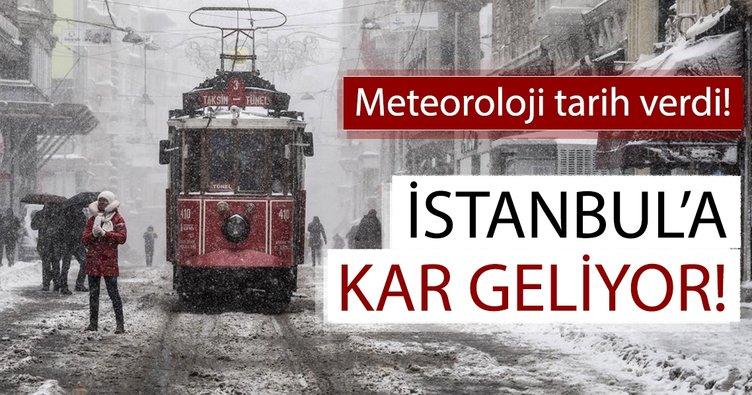 Meteoroloji'den İstanbul'a son dakika kar ve hava durumu uyarısı geldi! İstanbul'a kar yağacağı tarih belli oldu