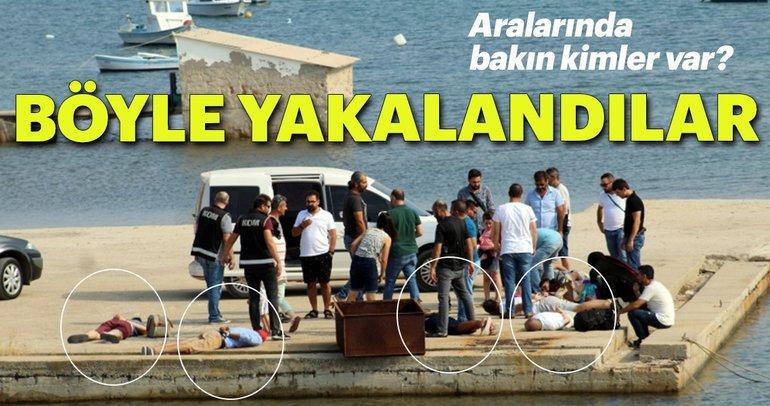 Yunanistan'a kaçmaya çalışan FETÖ şüphelileri yakalandı