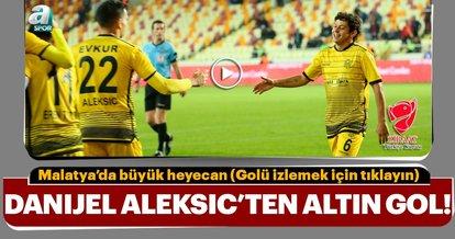 Yeni Malatyaspor, Aleksic'le turladı
