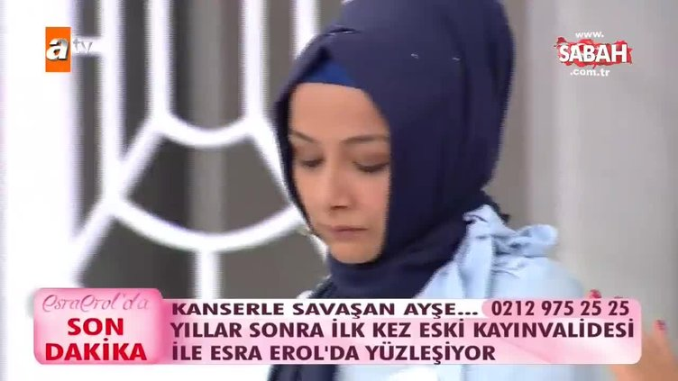 Esra Erol'da gergin anlar