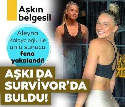 Aleyna Kalaycıoğlu aşkı da Survivor'dan buldu! Aleyna Kalaycıoğlu Survivor Panorama yorumcusu ile fena yakalandı!