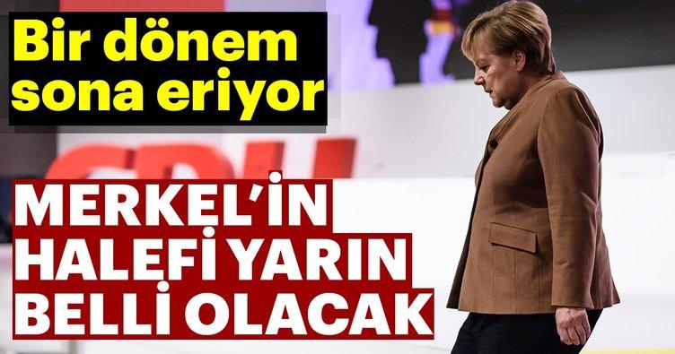 Son dakika: Merkel'in halefi yarın belli olacak