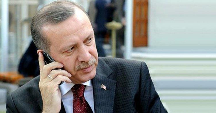 Cumhurbaşkanı Erdoğan'dan tele tebrik