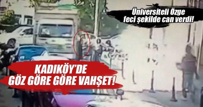 Kadıköy'deki kamyon faciası kameralarda