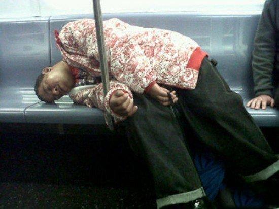 Metroların sıradışı insanları