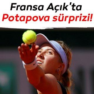 Fransa Açık'ta Potapova sürprizi!