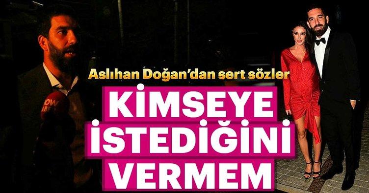 Tacizle suçlanan Arda Turan'a eşi Aslıhan Doğan'dan destek