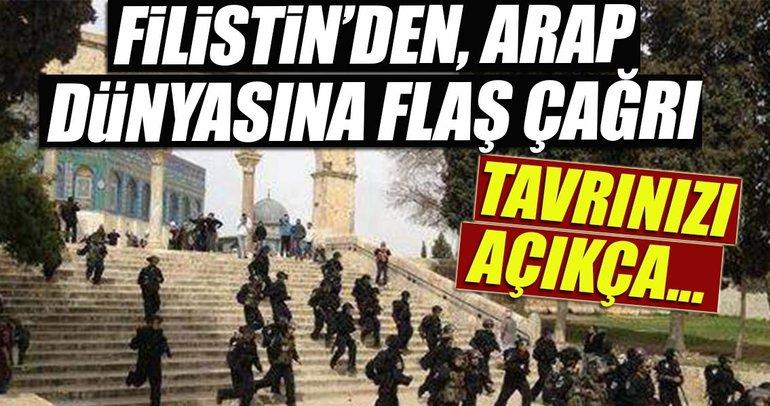 Filistin Arap dünyasına çağrıda bulunacak