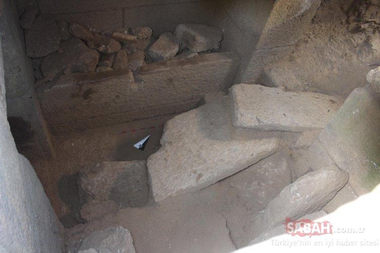 Aydın'da yazıtlı oda mezar bulundu: İlk kez böylesine rastlandı