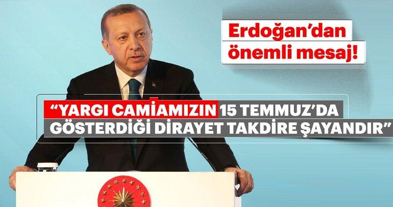 Cumhurbaşkanı Erdoğan: 4 bin civarındaki FETÖ üyesine rağmen...