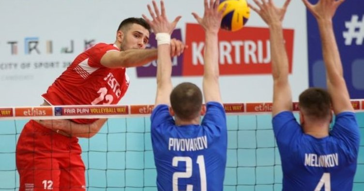 Voleybol maçı sona erdi: Türkiye 1 - Rusya 3 | MAÇ SONUCU