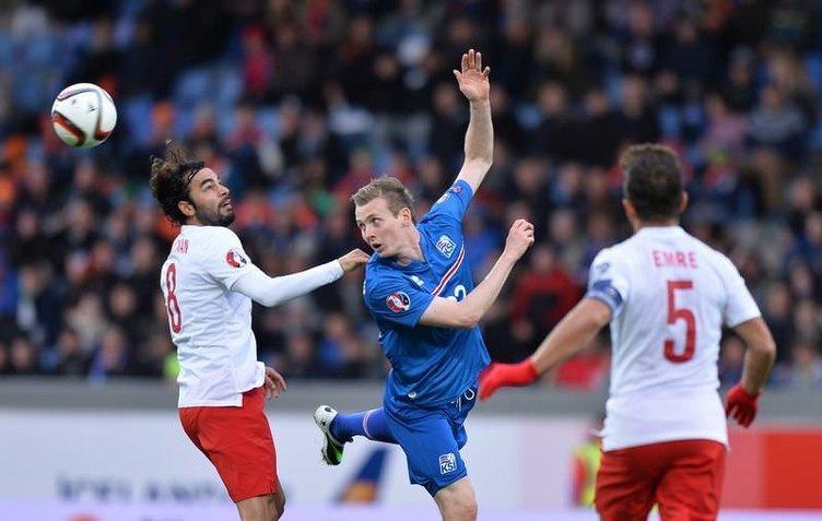 İzlanda - Türkiye maçının fotoğrafları