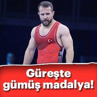 Fatih Erdin gümüş madalya kazandı