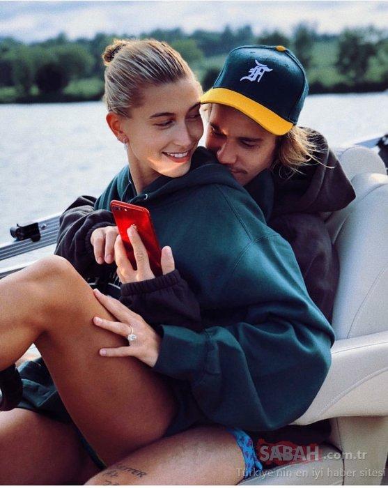 Genç yaşta ünlü şarkıcı ile evlenen model Hailey Baldwin değişimi ile şaşırtıyor!