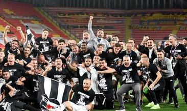 Süper Lig'in şampiyonu Beşiktaş!