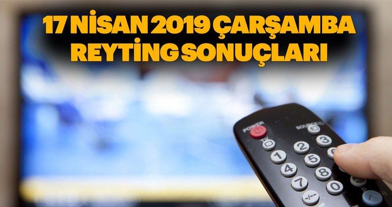 Reyting sonuçları 17 Nisan 2019 Çarşamba günü için açıklandı - Kuzgun, Sen Anlat Karadeniz ve Diriliş Ertuğrul reyting sonucu