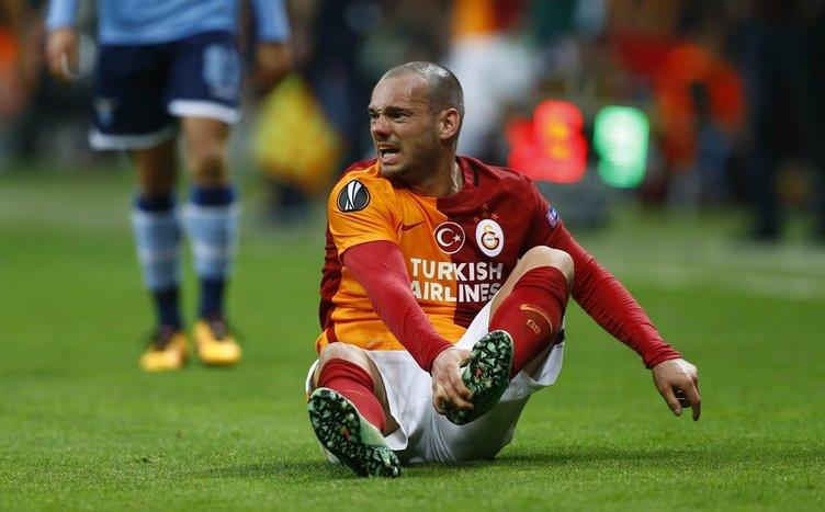 Sneijder bunu hep yapıyor